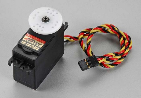 HiTec HS-5625MG Digital High-Speed Metal Gear BB Servo #35625S