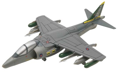 Harrier GR7 (1/100 Scale) SnapTite Fighter Plane from Revell Models #851372