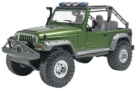 '03 Jeep Rubincon (1/25 Scale) from Revell Models #854053