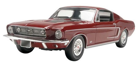 '68 Ford Mustang GT (1/25 Scale) 2 'n 1 from Revell Models #854215