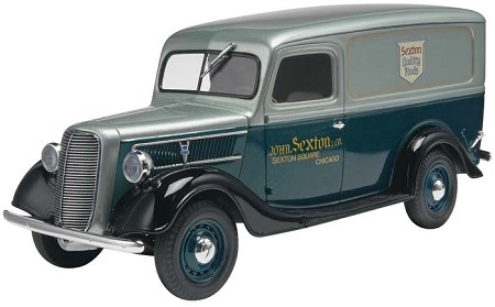'37 Ford Sexton Delivery Panel Truck (1/25 Scale) from Revell Models #854930