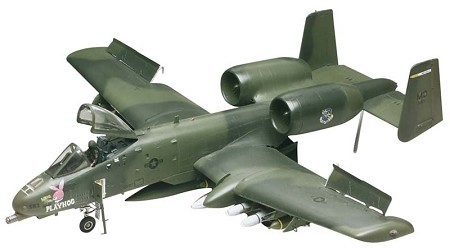 A-10 Warthog (1/48 Scale) Airplane from Revell Models #855521
