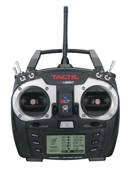 Tactic TTX650 6-Channel 2.4GHz SLT Computer Transmitter