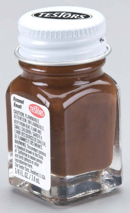 Testors Brown Paint (1/4 oz)
