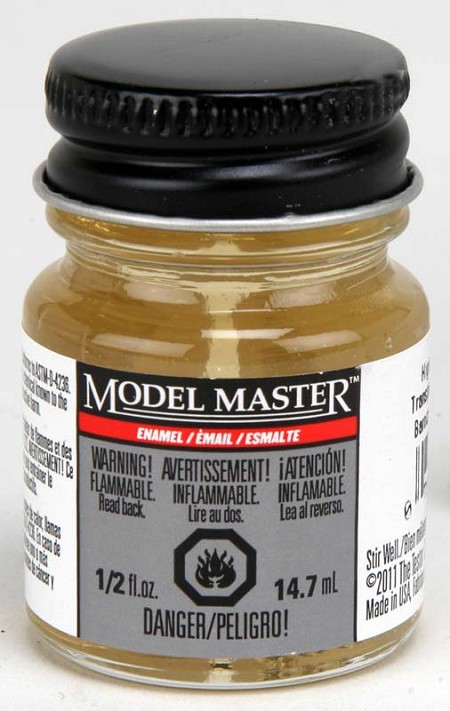 Testors Model Master High Gloss Clear Gloss Paint (1/2 oz)