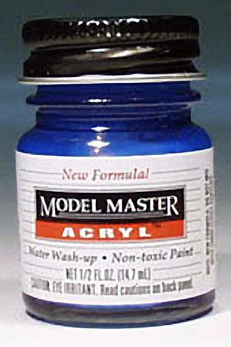 Testors Model Master Ford GM Engine Blue GP00473 Paint (1/2 oz)