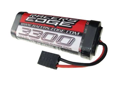 3300mAh 7.2V 6 Cell NiMh Battery Pack with TRX Connector