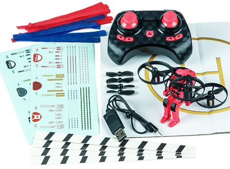 Jetpack Commander RTF Quad - Red
