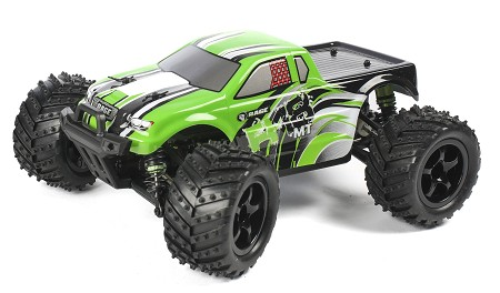 R18MT Monster Truck RTR, 1/18 Scale, Brushed, w/ a Battery, and Charger - Brushed