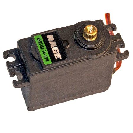 Standard Size Metal Gear Analog Servo, Torque/Speed@6V 142/.16