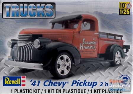 '41 Chevy Pickup Truck (1/25 Scale) 2 'n 1 from Revell Models #857202