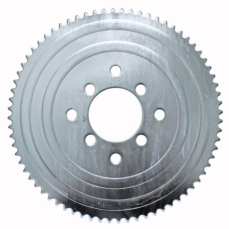 #35 Sprocket 72T with Dual Bolt Pattern