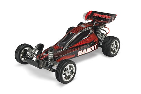 Bandit 1/10 Extreme Sports Buggy Red, RTR W/ iD Battery & 4 Amp Peak DC Charger - Brushed