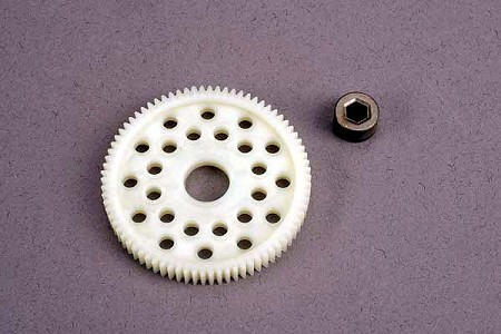 78T Spur Gear (48-Pitch) with Bushing