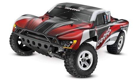 Slash 1/10 2WD Red, Xl-5 RTR w/2.4GHz Radio - No Battery or Charger - Brushed
