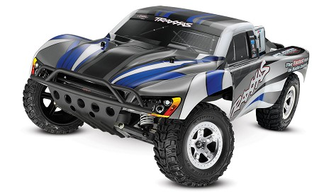 Slash 1/10 2WD Silver-Blue, Xl-5 RTR w/2.4GHz Radio - No Battery or Charger - Brushed