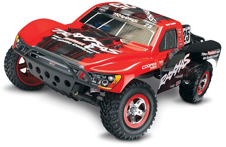 Slash 1/10 2WD Mark Jenkins RTR w/2.4GHz, iD Battery & 4amp Peak DC Charger - Brushed
